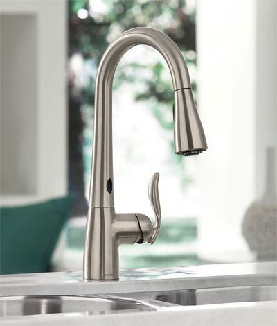 Moen Arbor MotionSense kitchen faucet - gun metal if possible