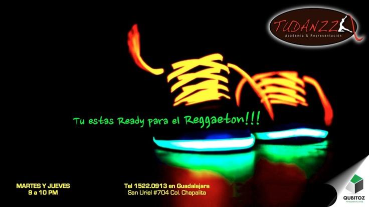 #Publicity via Web con Social Media para clases de #Reggaeton