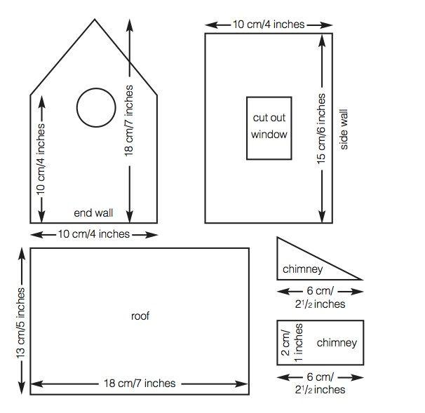 gingerbread house plan