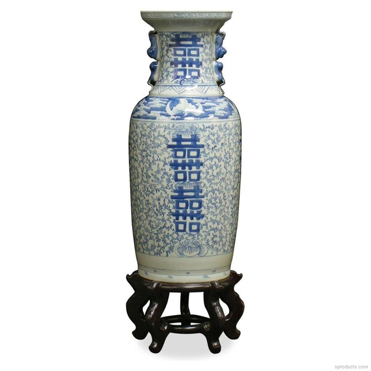 Sproducts — Vintage Chinese Qing Double Happiness Vase