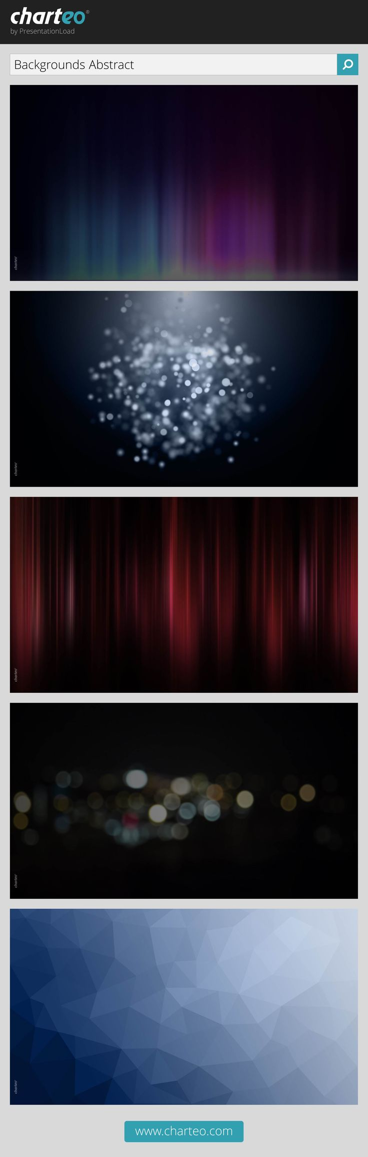 Use our abstract backgrounds for PowerPoint in your presentation for a modern look.