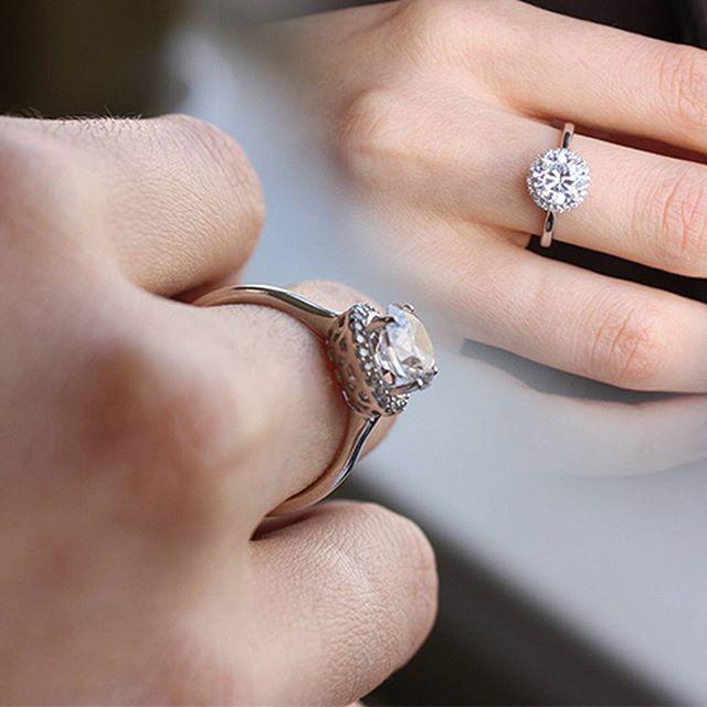 Серебряное кольцо с фианитами   #zlato_ua #jewelry #silver #украшения #ring #кольцо