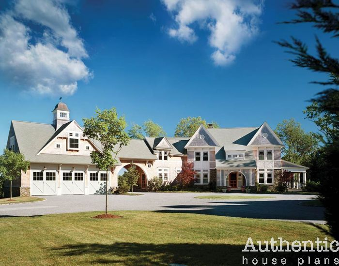 Country Estate House Plan With Equestrian Barn Authentic House Plans House Plans Mansion Luxury House Plans Mansions