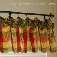 Curtains   Gallery | Beyond the Screen Door