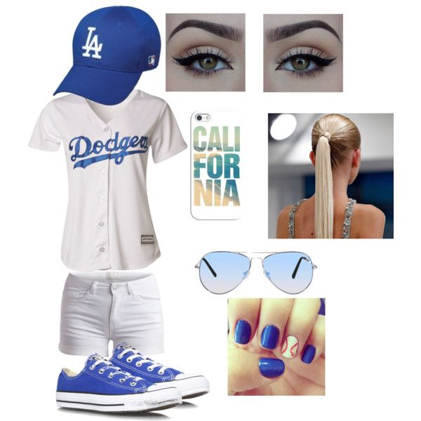 L.A. Dodgers Game outfit! ⚾  e3dad72a5