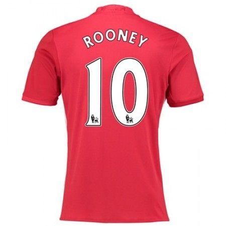 Manchester United 16-17 Wayne #Rooney 10 Hemmatröja Kortärmad,259,28KR,shirtshopservice@gmail.com
