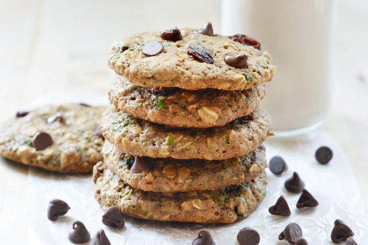 Vegan Kale & Oatmeal Cookies - The Colorful Kitchen