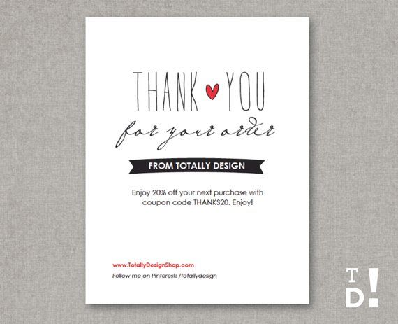 Thank You Cards Instant
