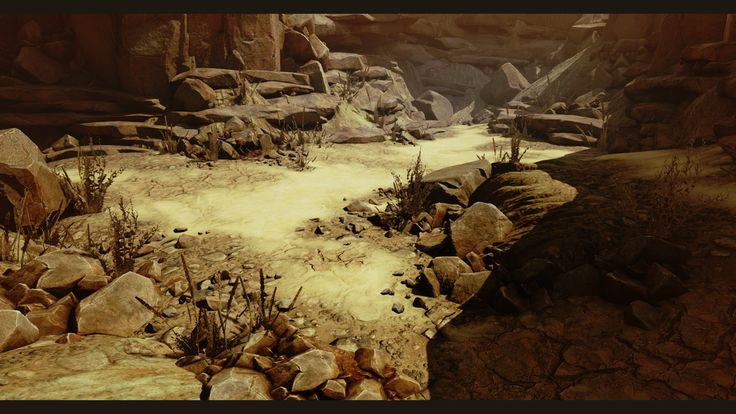 [UE4] Arid Desert Environment — polycount