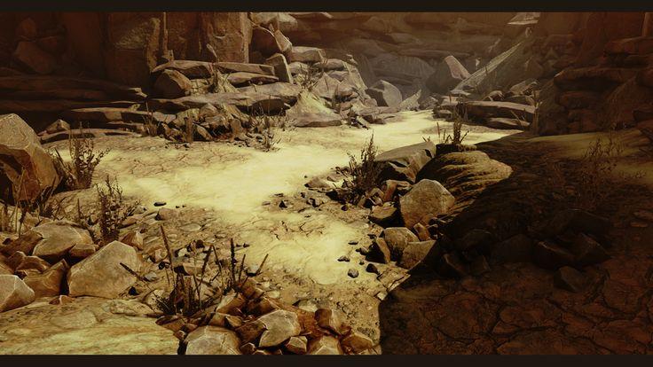 [UE4] Arid Desert Environment - Polycount Forum
