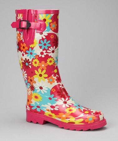 Zulily Women's Rain Boots 44