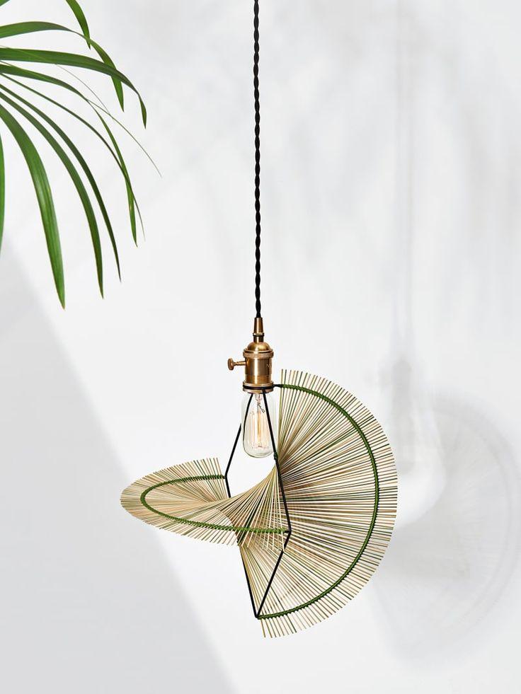 Acht symmetrische Leuchtschirme