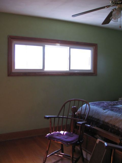 short n wide windows  Spare Room TO Crafty Room  Blinds