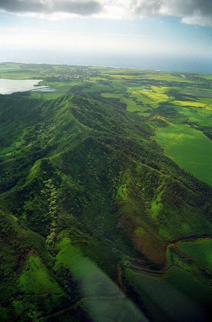 KAUAI, HAWAII: Kauai, the most northern island.