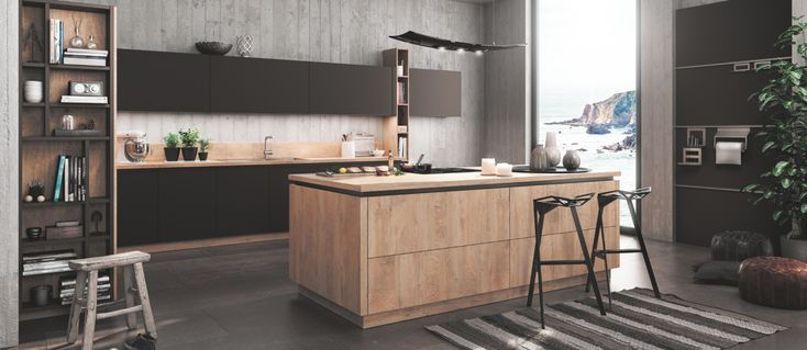 72 best KITCHENS u2013 COZINHAS images on Pinterest Attic, Bathroom - häcker küchen frankfurt