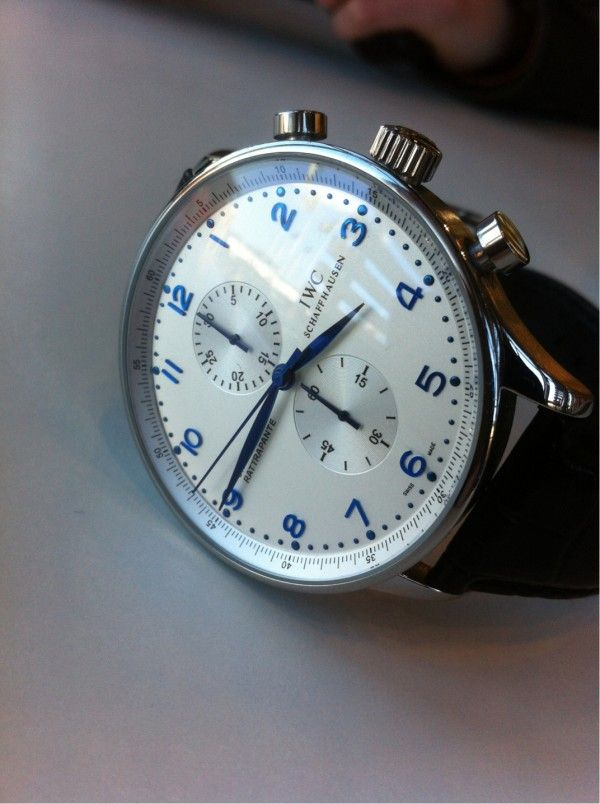 "IWC - ""The best accessory a man should own is a well made timepiece."""
