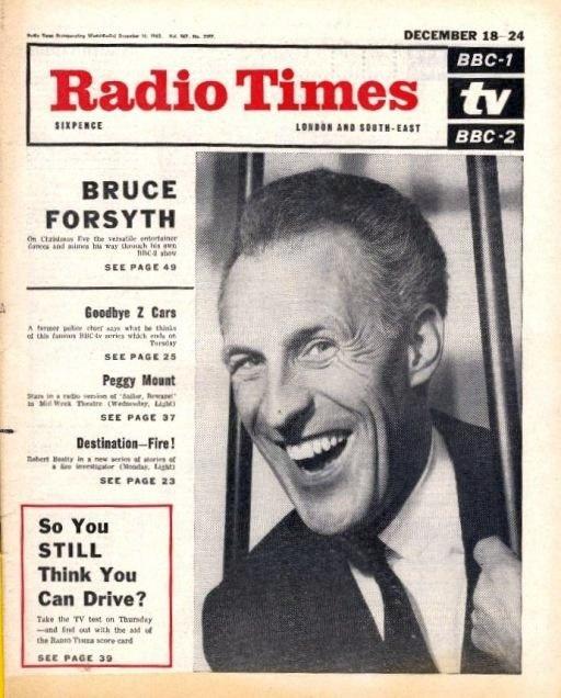 651218 - Radio Times w/c 18th December 1965 - Bruce Forsyth