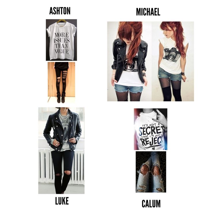 Outfits they would wear if 5sos were girls or what I think 5sos girlfriends would wear