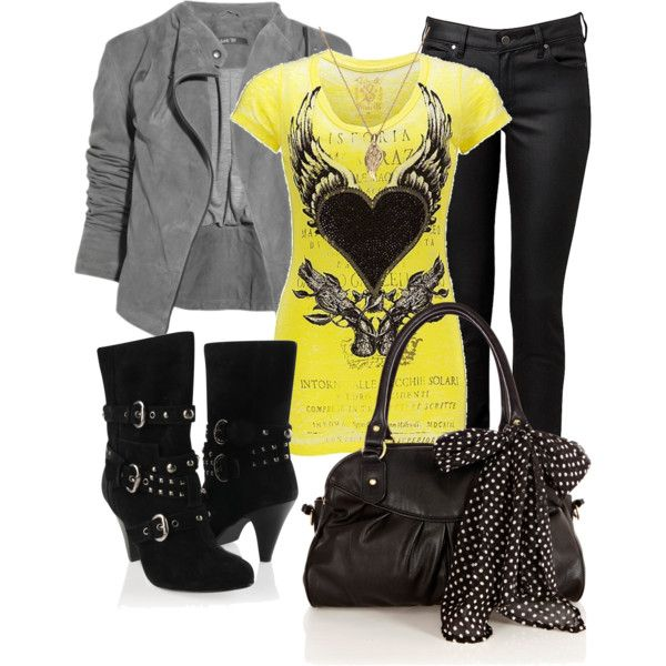 A fashion look from January 2013 featuring Velvet Stone t-shirts, Forever 21 ankle booties and Oasis handbags. Browse and shop related looks.