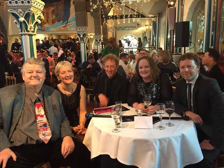Big night out for @CI at the #RTSScotland awards with the legend that is Robbie Coltrane #CriticalEvidence @http://AENetworksUKpic.twitter.com/tKQtzpy8UG