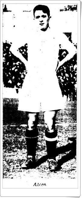 Ateca. Real Madrid. 1931-32. Campeón de Liga. Medio izquierdo.