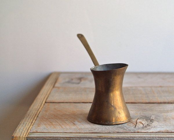 Bronze Turkish Coffee Pot