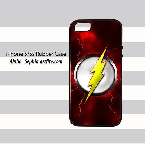 Flash iPhone 5 5s Rubber Case Cover
