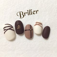 【再販5】チョコネイル  マット