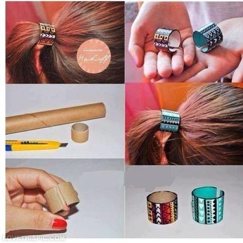 DIY Hair Tie hair diy crafts diy ideas diy crafts do it yourself easy diy diy tips hair tie craft fashion craft accessories easy craft diy ideas craft ideas hair diy
