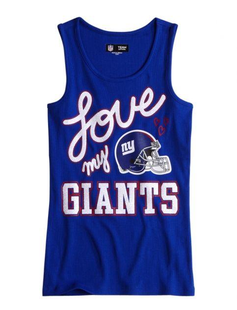 Nfl® New York Giants Tank | Girls Giants Nfl® | Shop Justice