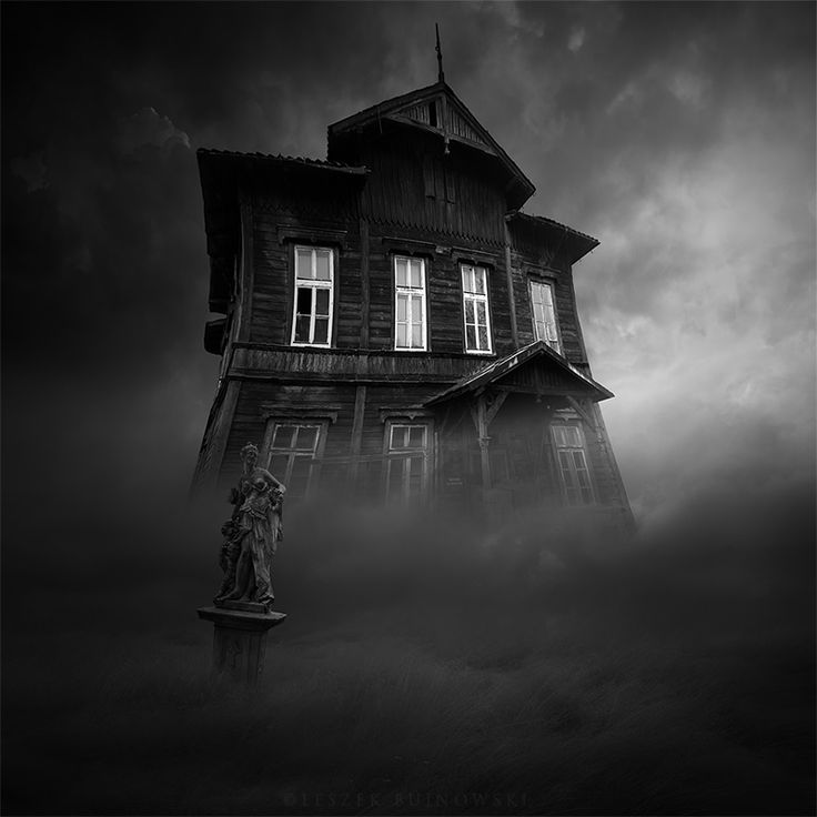 House Of Shadows, photography by Leszek Bujnowski. In Construction, Edifice, House. House Of Shadows, photography by Leszek Bujnowski. Image #409075