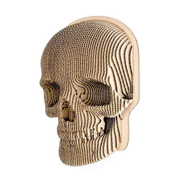 Diy Cardboard Masks: 3D Puzzle DIY Kit Paper