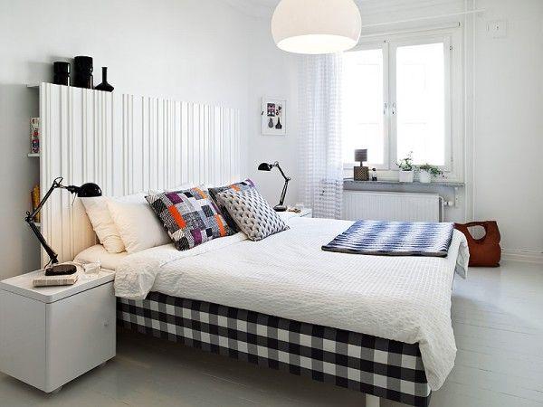 White Modern Bedroom Decoration