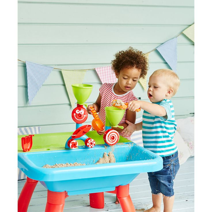 one for keeping at Norseland  The brilliant Sand and Water Table comes with lots of toys, so your child can really enjoy playing with sand and water at home