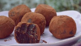 Troll a konyhámban: Nyers brownie falatok - paleo