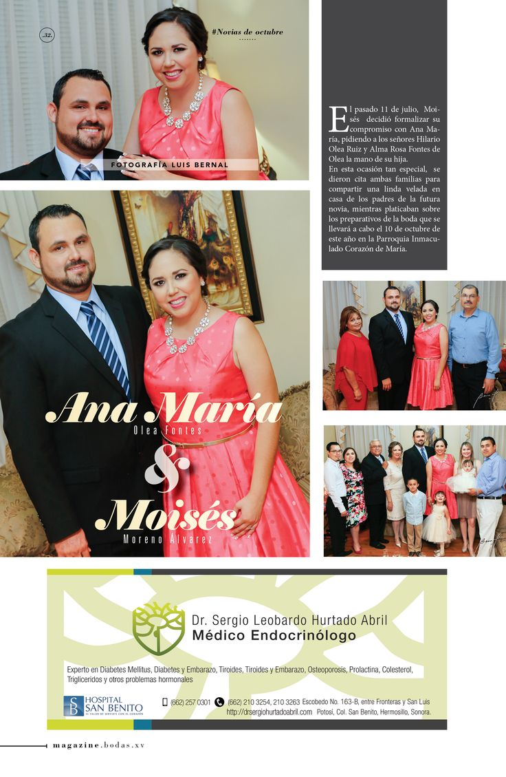 Compromiso Ana María y Moisés  Fotografía por Luis Bernal