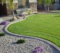 How To Make Decorative Concrete Curbing