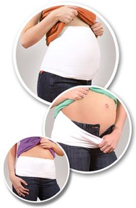 Expectant moms often like to wear their pre-pregnancy clothes as long as possible before transitioning into maternity clothes. One item that helps achieve this goal is maternity belly bands. Maternity belly bands are designed to offer back support and lower belly support while disappearing discreetly underneath maternity clothing.