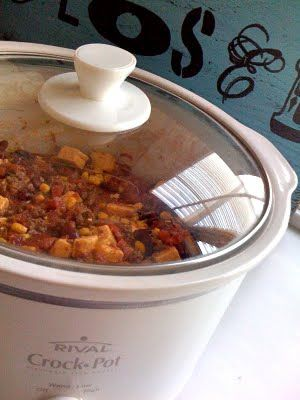 I am truly addicted to this soup!  I make mine in a pot on the stove- I can't wait 3 hrs. of crock-pot time when I want this!