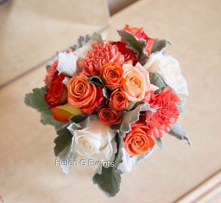 Wedding Bouquets Jamaica : Best images about orange themed wedding ideas on