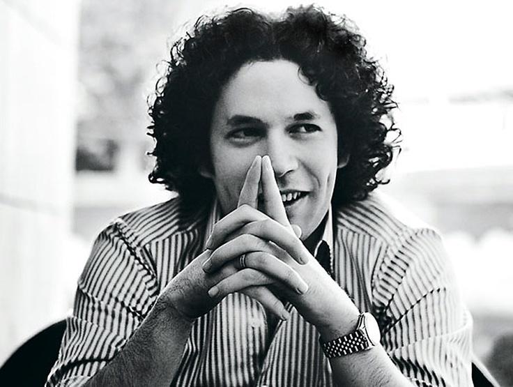 Gustavo Dudamel, conductor of the LA Philharmonic