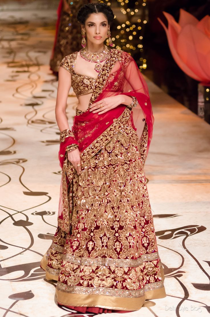 Indian Bridal Wear #Choli Designs Collection