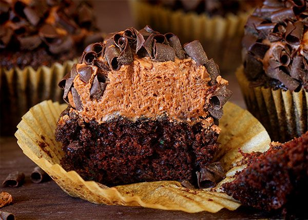 Double Chocolate Zucchini Cupcakes!  These are AMAZING!