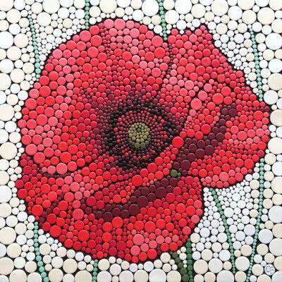 Claire Fairweather, NZ. Polymer clay mosaic.