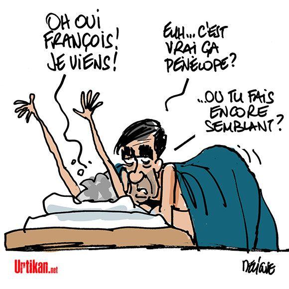 Pénélope Fillon aurait été rémunérée comme attachée parlementaire fictive… - Dessin du jour - Urtikan.net