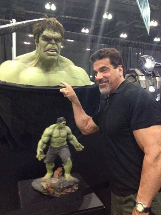 Lou Ferrigno & Hulk | The Incredible Hulk | Pinterest ...