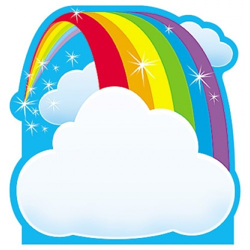 classroom rainbow theme | ... Rainbow Note Pad will make messages stand out in your classroom