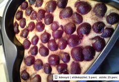 Reform túrós-meggyes süti tönkölyliszttel zabkorpával