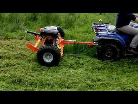 FM Series ATV Flail Mowers - Chapman Machinery Ltd - YouTube | UTV