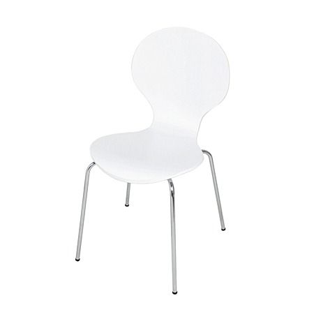 Solano Bentwood Chair Set Of 2 White